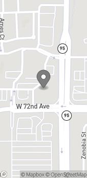 Mapa de 7201 Sheridan Blvd en Westminster