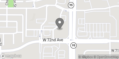 Map of 7201 Sheridan Blvd in Westminster