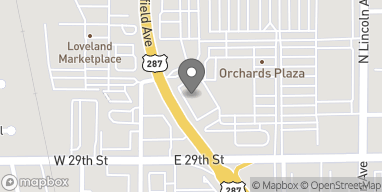 Map of 225 E 29th Ave in Loveland