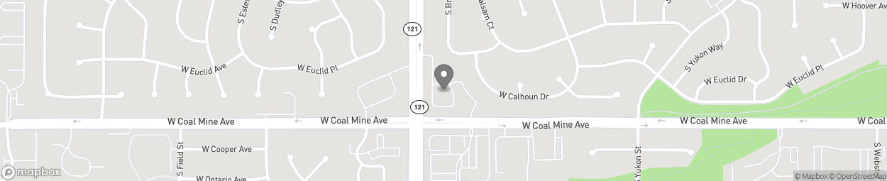 Map of 6676 S Wadsworth Blvd in Littleton