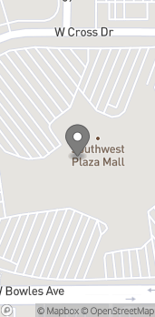 Map of 8501 W Bowles Ave in Littleton