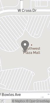 Mapa de 8501 W Bowles Ave en Littleton