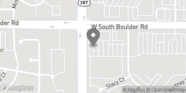 Mapa de 548 W S Boulder Rd en Lafayette