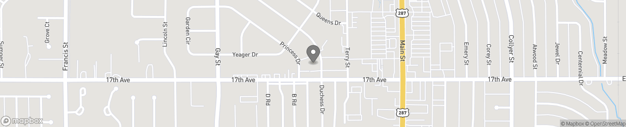 Map of 810 17th Avenue in Longmont