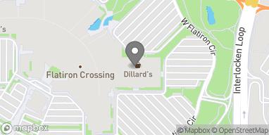 Mapa de 1 W Flatiron Crossing Dr en Broomfield