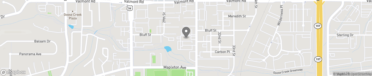 Map of 2633 30th St in Boulder