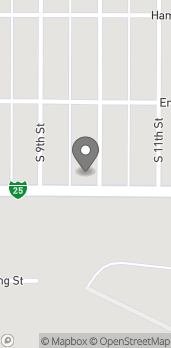 Map of 920 E Richards in Douglas