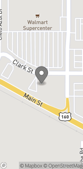 Map of 3312 Clark St in Alamosa