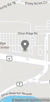 Mapa de 324 Dillon Ridge Way en Dillon