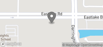 Map of 13658 Eastlake Blvd in Horizon City