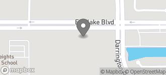 Map of 13658 Eastlake Blvd in Horizon City