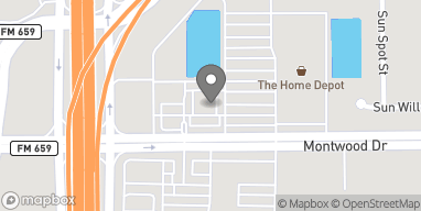Mapa de 12211 Montwood en El Paso