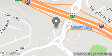 Mapa de 439 Edwards Access Road en Edwards