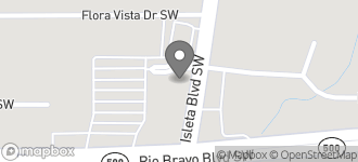 Map of 3335 Isleta Blvd. SW in Albuquerque
