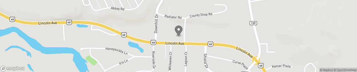 Map of 2400 Lincoln Avenue in Steamboat Sprin