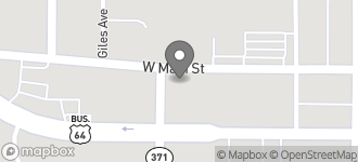 Map of 745 W. Main Street in Farmington