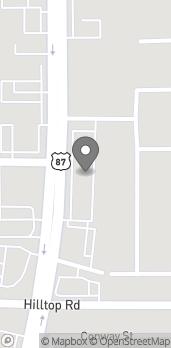 Mapa de 895 Main St en Billings