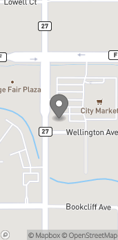 Map of 2510 N 12th Street in Grand Junction