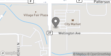 Mapa de 2510 N 12th Street en Grand Junction