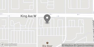 Mapa de 2564 King Avenue West en Billings