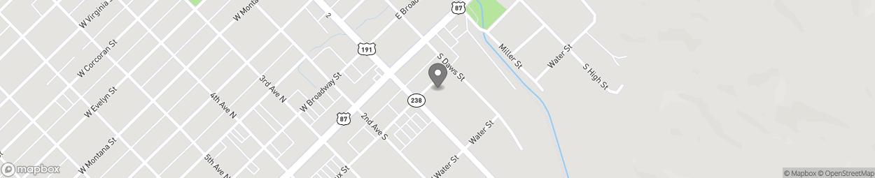 Carte de 207 1st Avenue South à Lewistown