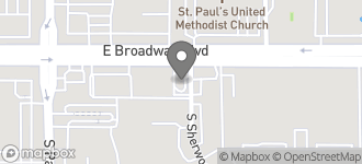 Map of 7980 East Broadway Blvd. in Tucson