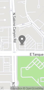 Map of 7111 E Tanque Verde Rd in Tucson