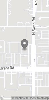 Map of 2485 N Swan Rd in Tucson