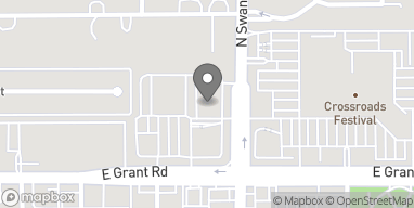 Map of 2485 N Swan Rd in Tucson