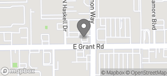 Map of 3869 E. Grant Rd. in Tucson