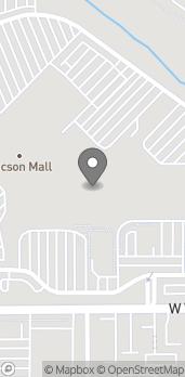 Mapa de 4500 N Oracle Road en Tucson