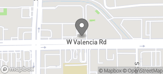 Map of 402 W. Valencia in Tucson