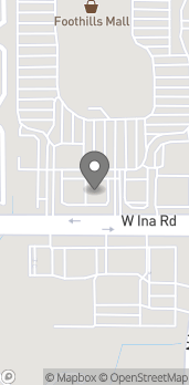 Map of 2220 W Ina Rd in Tucson