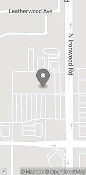 Mapa de 40930 N. Ironwood Drive en San Tan Valley