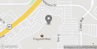 Map of 4650 N US Hwy 89 in Flagstaff