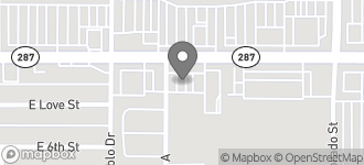Map of 1233 East Florence Blvd. in Casa Grande