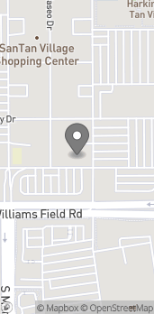 Map of 2224 E Williams Field Rd in Gilbert