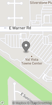 Map of 1505 E Warner Rd in Gilbert