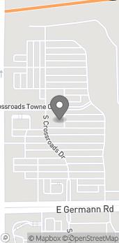 Mapa de 3871 S Gilbert Rd en Gilbert