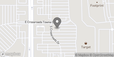 Map of 3871 S Gilbert Rd in Gilbert