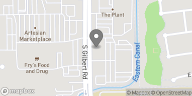 Map of 4145 S Gilbert Road in Chandler