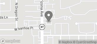 Map of 817 N. Arizona Avenue in Chandler