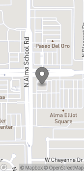 Map of 995 W Elliot Rd in Chandler