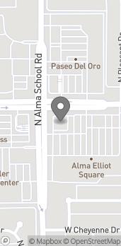 Mapa de 995 W Elliot Rd en Chandler