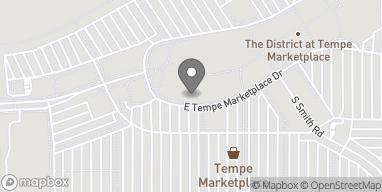 Mapa de 2020 E Rio Salado Pkwy en Tempe