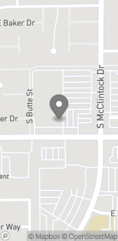 Map of 5100 S McClintock Dr in Tempe