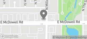 Map of 7538 E. McDowell in Scottsdale
