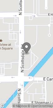 Mapa de 4545 N Scottsdale Rd en Scottsdale