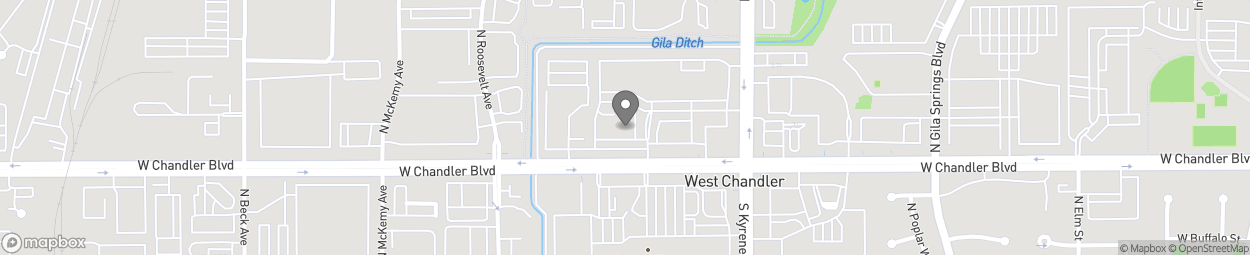 Map of 6170 W Chandler Blvd in Chandler