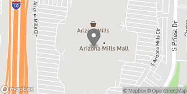 Map of 5000 S Arizona Mills Cir in Tempe
